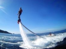 Flyboard au Port de la Pointe Rouge à Marseille